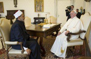 Egyptian Imam Ahmad Muhammad al-Tayyib visits the Vatican