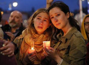 Vigil in honor of Orlando shooting victims in San Francisco, California