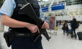 Security measures at Duesseldorf airport