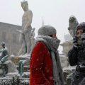 MALTEMPO: FREDDO NON DA TREGUA, NEVICA IN QUASI TUTTA ITALIA