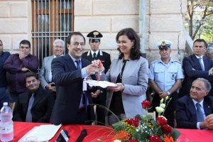 Immigrazione: Boldrini, a Riace esperimento di grande valore