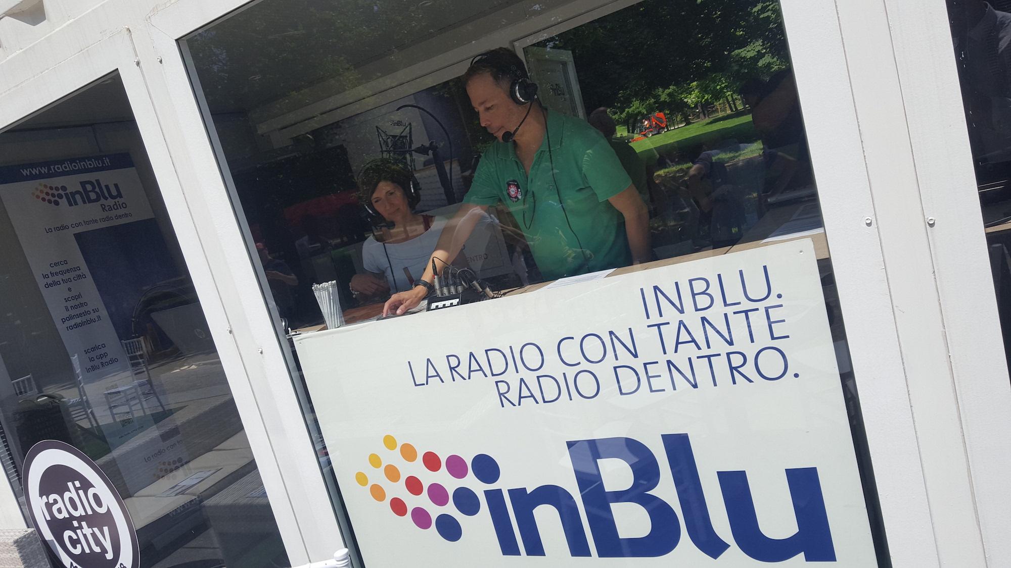 InBlu a Radio City con Eugenio Finardi tra le big radiofoniche