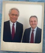 Antonio Diana, presidente Erreplast & Giorgio Quagliuolo, presidente Corepla