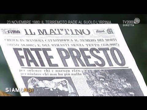 23 novembre 1980: la scossa che sconvolse l'Irpinia