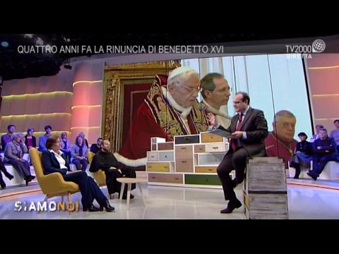 Siamo Noi - Papa Benedetto XVI: quattro anni fa la rinuncia al Pontificato