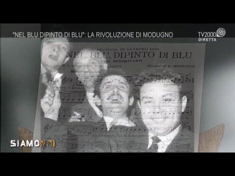 Siamo Noi - Domenico Modugno: il dipinto di un artista unico e straordinario