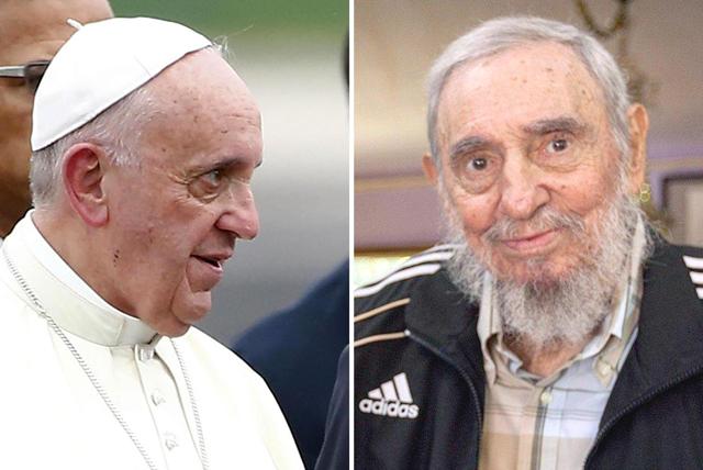 papa francesco fidel castro