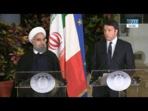 matteo-renzi-incontra-il-presidente-iraniano-rohani