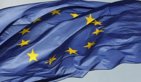 Bandiera Ue Europa
