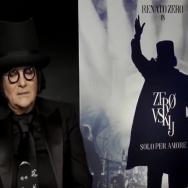 Renato Zero intervistato da Fabio Falzone per 'Effetto Notte'