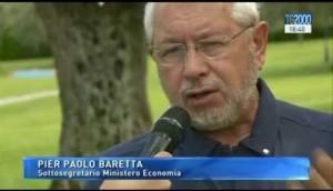 Pier Paolo Baretta sottosegretario Economia