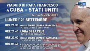 appuntamenti viaggio Papa Francesco