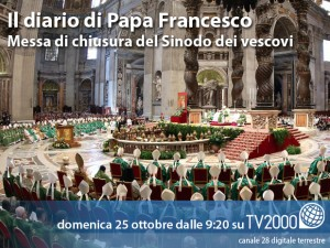 Messa chiusura sinodo