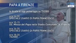 dirette papa Francesco