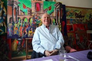 Nobel prize Dario Fo presents a book on Lucrezia Borgia