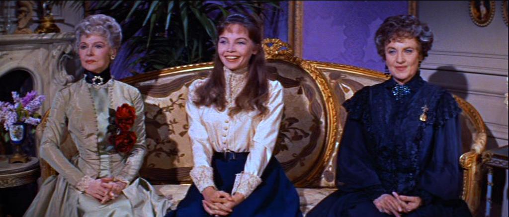 Leslie Caron nel film Gigi