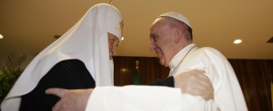 Papa Francesco e Kirill