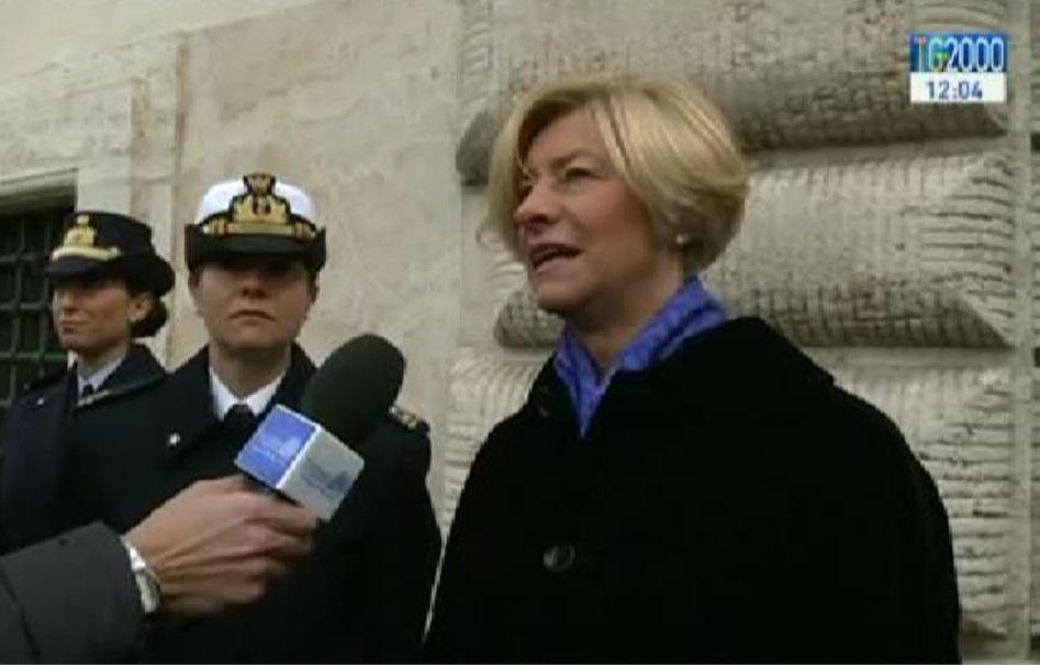 Roberta Pinotti ministro Difesa