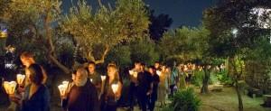 in diretta dalla Basilica del Getsemani in Gerusalemme: la veglia di preghiera dall'Orto degli Ulivi
