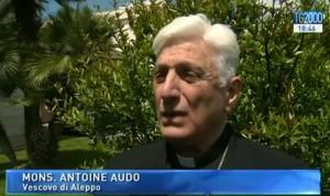vescovo aleppo mons. audo