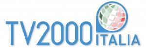 logo TV2000 ITALIA hq azzurro