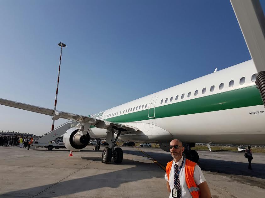 Viaggio in Armenia: la partenza da Fiumicino