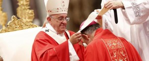 la Santa Messa presieduta da Papa Francesco e la benedizione dei Palli per i nuovi Arcivescovi Metropoliti