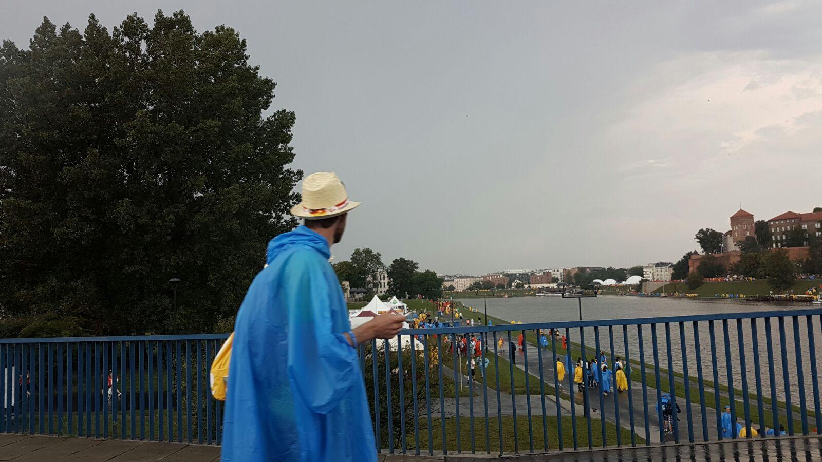 La Gmg inizia sotto la pioggia