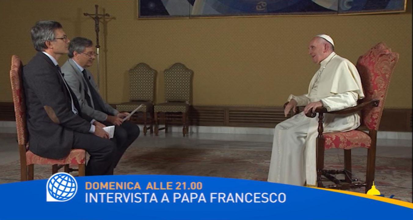 Papa Francesco: intervista a Tv2000-InBlu Radio.In onda domenica 20 novembre alle ore 21