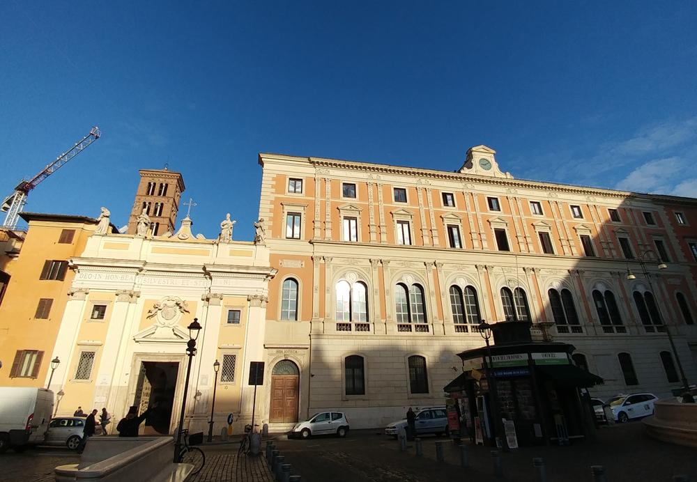 San Silvestro in Capite, l'Immagine Edessena e la testa del Battista