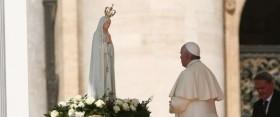 Papa Francesco a Fatima