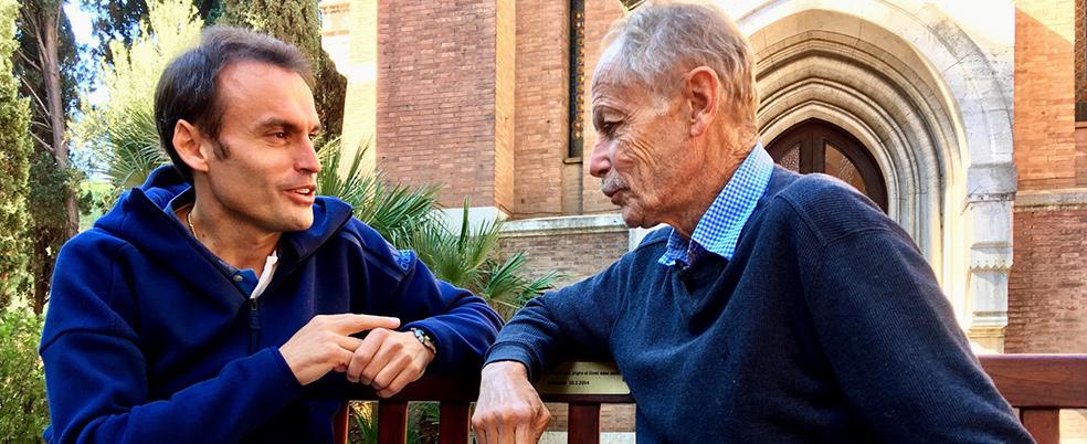"""Erri De Luca: """"Si santifica Dio rendendo santo il proprio comportamento"""". 'Padre nostro' con don Marco Pozza su Tv2000 1 novembre"""