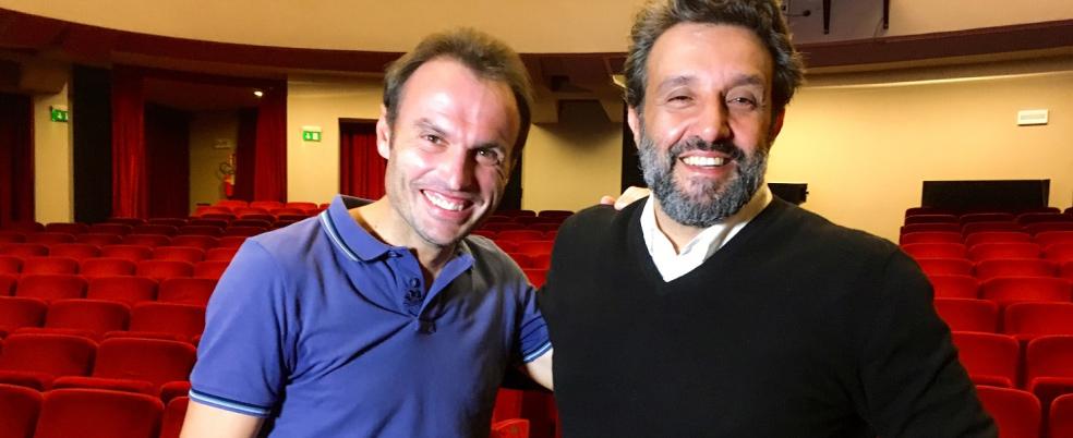 Flavio Insinna protagonista di 'Padre nostro' mercoledì 29 novembre alle ore 21.05 su Tv2000
