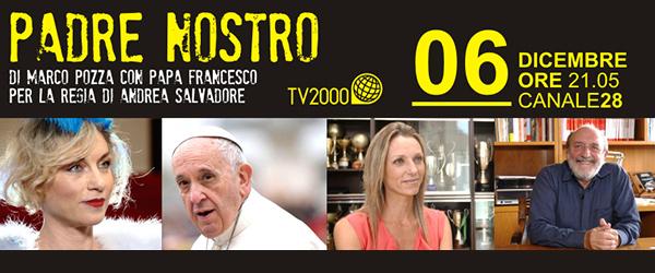 #Tv2000 #PadreNostro. Papa Francesco conversa con Don Marco Pozza. Mercoledì 6 dicembre alle 21.05 con Galimberti e Vezzali