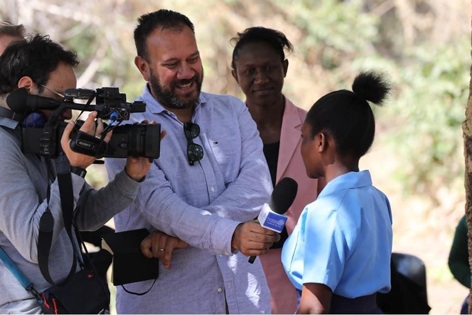 TV2000 nelle scuole dello Zambia sostenute da Mary's meals