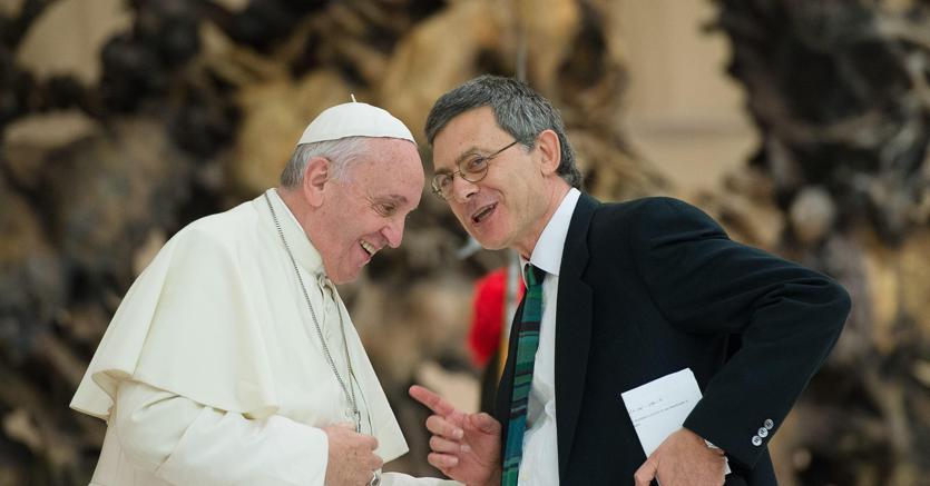 Papa Francesco e Paolo Ruffini