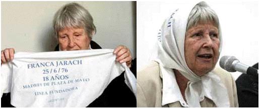 Ave Maria, il Papa: alle madri di Plaza de Mayo permetto tutto. Vera Vigevani Jarach: mia figlia Franca vittima di un volo della morte (video)