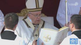 Papa Francesco canonizzazioni