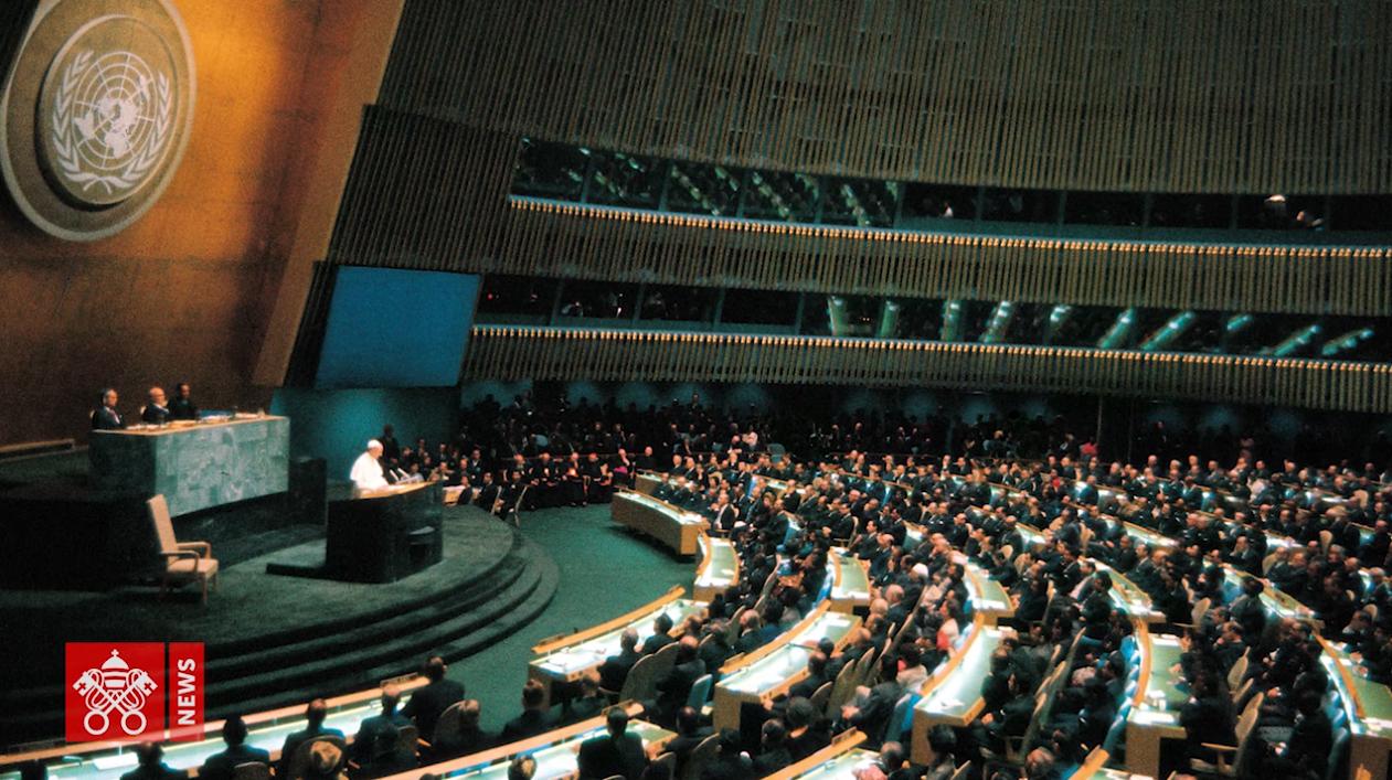 Canonizzazione Paolo VI, l'appello all'Onu contro la guerra