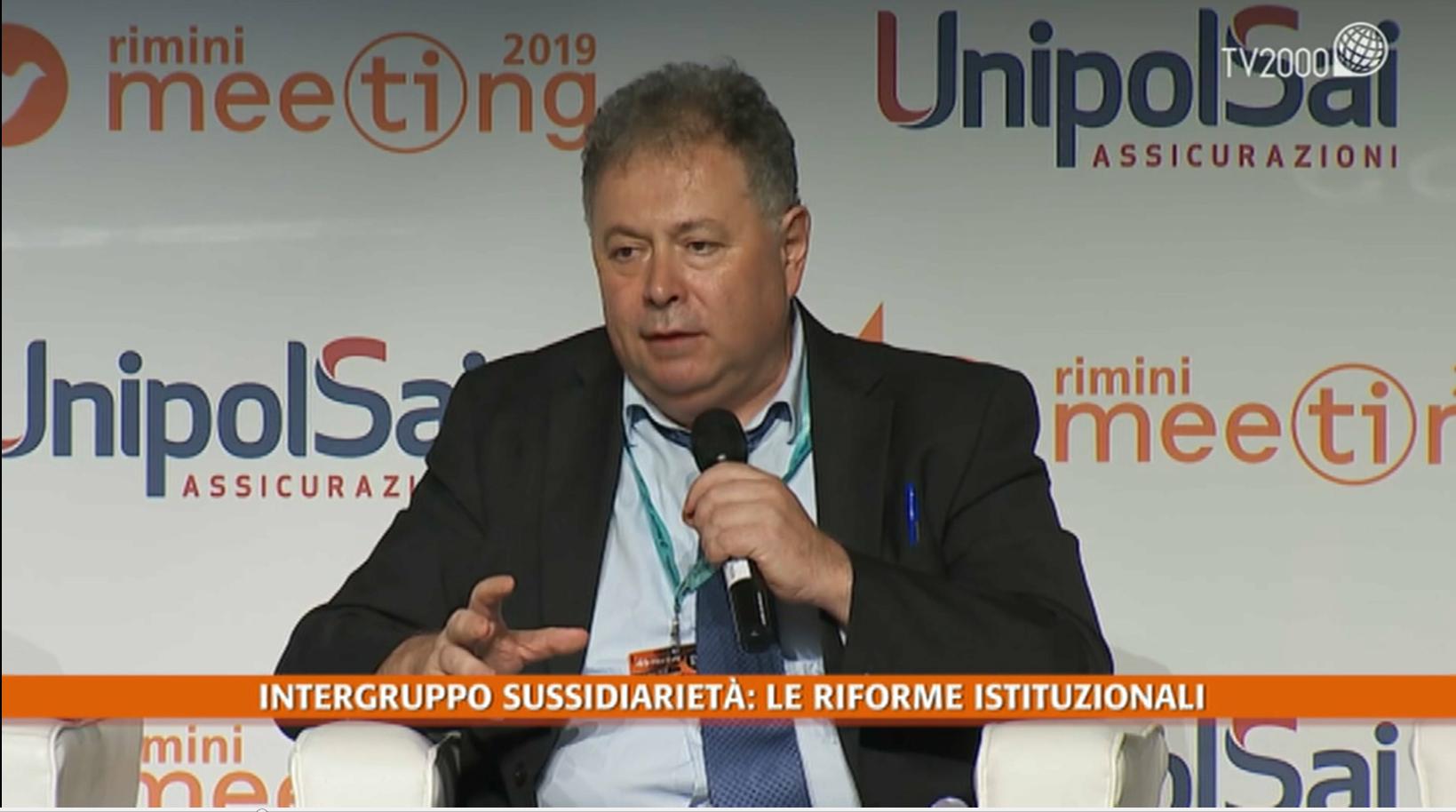 Gli incontri del Meeting di Rimini, 23 agosto 2019