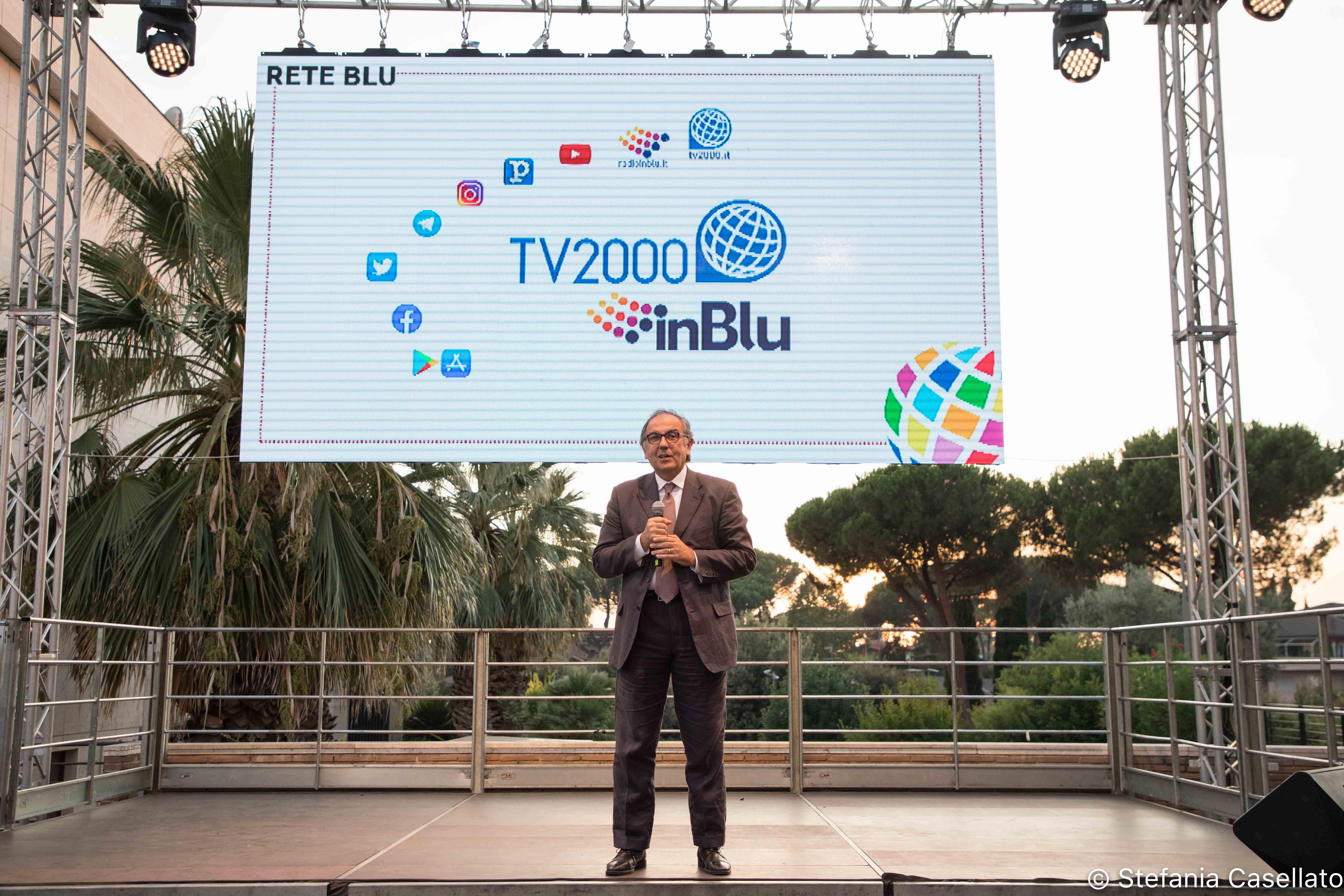 La festa 2019 di Tv2000. Foto