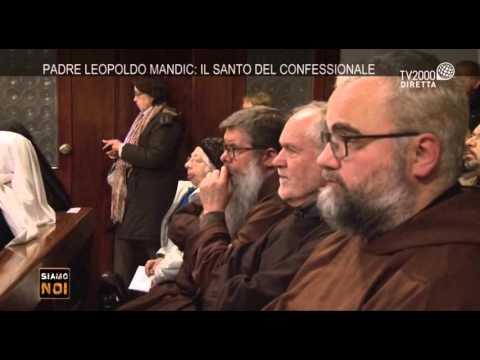 Padova, Celebrazione per San Leopoldo Mandic
