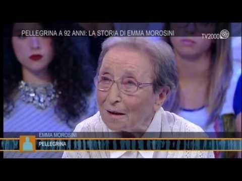Emma Morosini, pellegrina a 92 anni