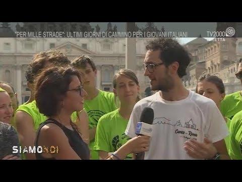 Per mille strade. I giovani di Cuneo sono arrivati a Roma