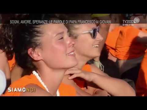 """""""Siamo Qui""""- Sogni, amore, speranze: le parole di Papa Francesco ai giovani"""