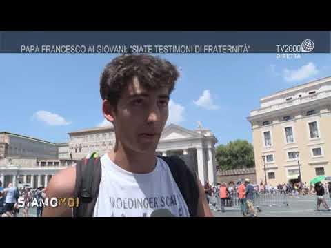 """""""Siamo Qui"""" - Papa Francesco ai giovani: """"Siate testimoni di fraternità"""""""