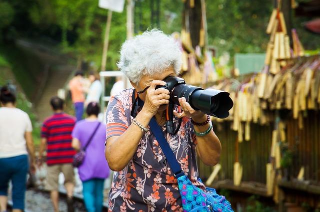 2 ottobre - Giornata Internazionale degli anziani,<br> la bellezza della terza età.