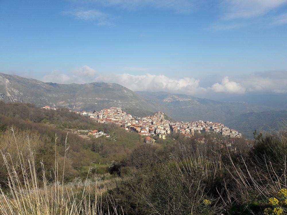 Galati Mamertino (Messina), il borgo