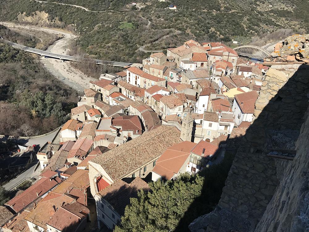 Valsinni (Matera), il borgo