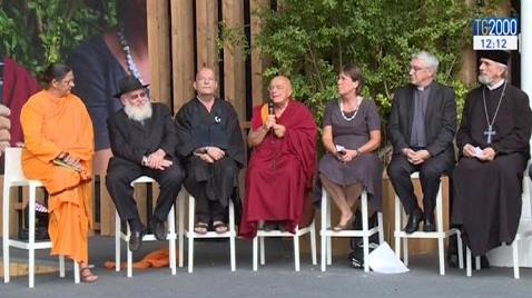 """Expo 2015, le religioni del mondo firmano la """"Carta di Milano"""""""